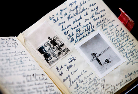 Anne Frank on Anne Frank Diary