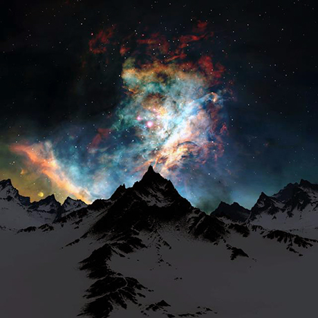 cielo invernale