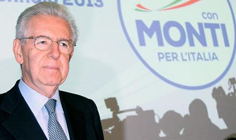 """MONTI: """"PDL E PD INCAPACI DI OFFRIRE NUOVE VISIONI"""""""