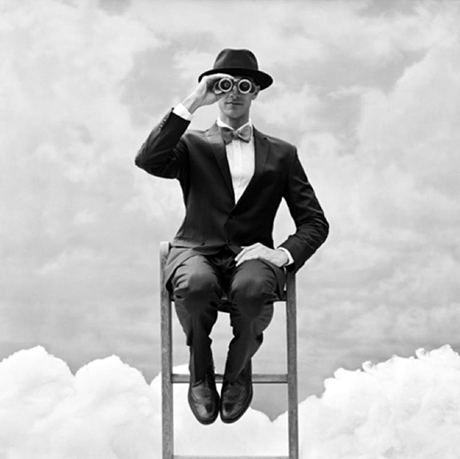 Rodney Smith, Man in Clouds