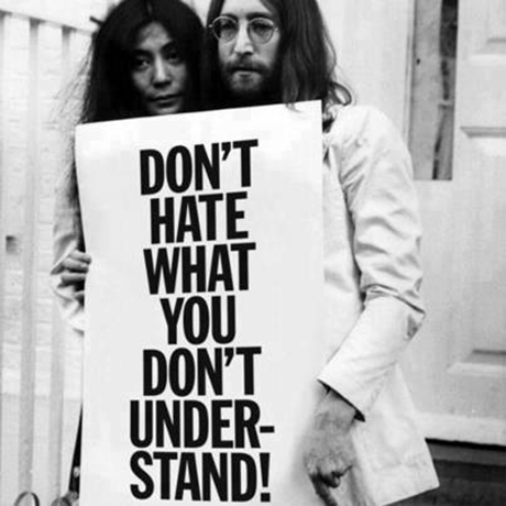 john lennon don't hate