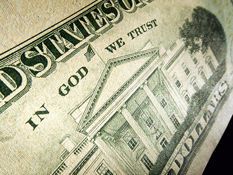 in god we trust dollars