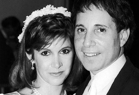 Paul Simon [& Wife #2];Carrie Fisher