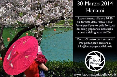 Uscita fotografica Hanami EUR Roma