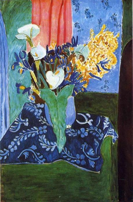 Matisse - Calle , Iris e Mimose, 1913