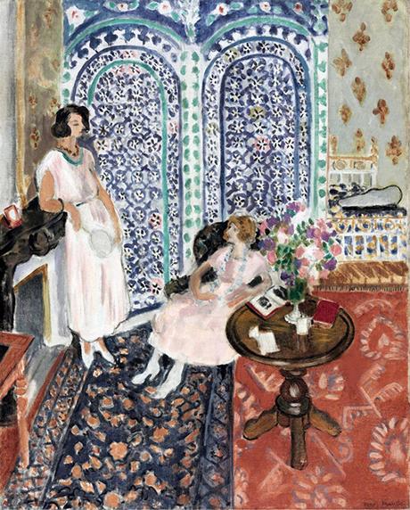 Matisse - Il paravento moresco, 1921