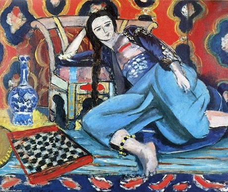 Matisse - Odalisca Blu, 1921