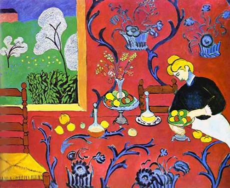 Matisse, Stanza Rossa, 1908