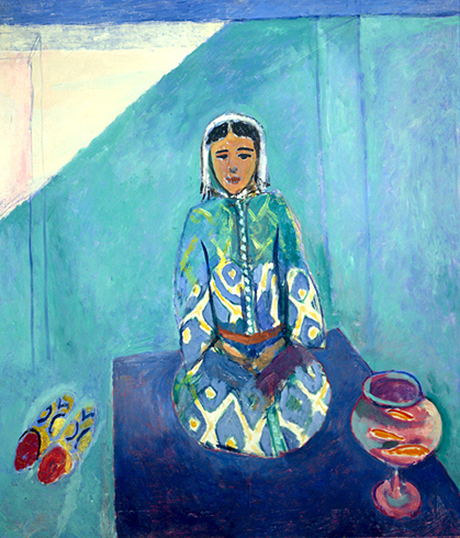 Matisse - Zorah sulla terrazza, 1912-13