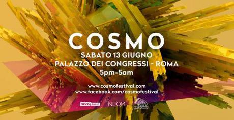 Cosmo, Festival Internazionale di Musica Elettronica a Roma