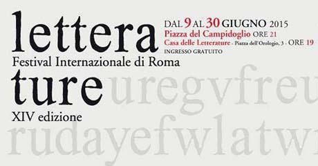 Letterature - Festival Internazionale di Roma