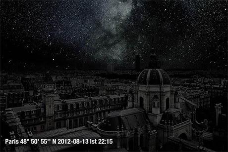 Parigi notte senza luci