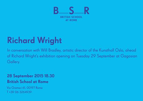 BSR Richard Wright