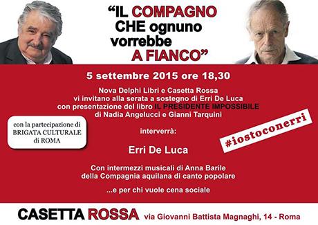Casetta Rossa spa Erri De Luca