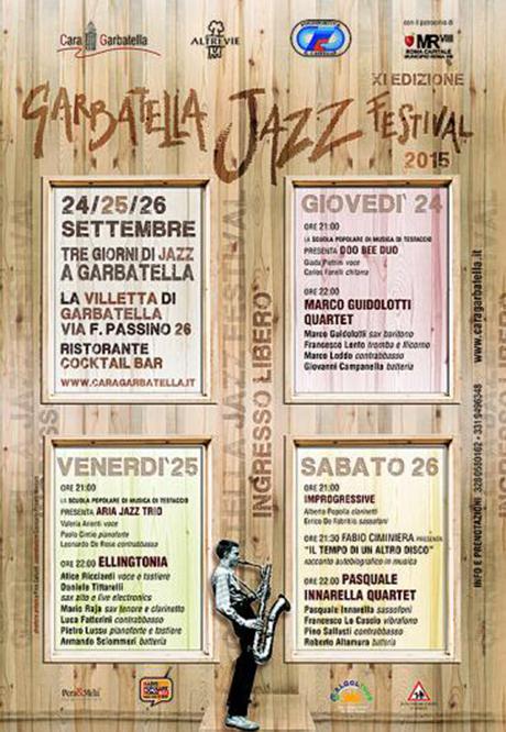 Garbatella Jazz Festival 2015