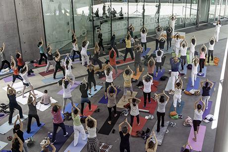 Yoga al MAXXI