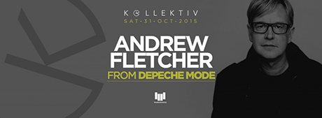 Andy Fletcher - Depeche Mode a Roma