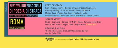 Festival Internazionale di Poesia di Strada - Roma 2015