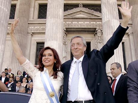 Argentina Obit Kirchner