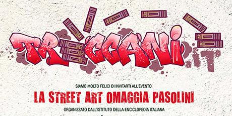 treccani streetart pasolini